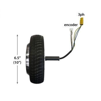 мотор-колесо для робота